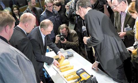 Germany Prepares:  The Bundesbank Repatriates Gold Reserves