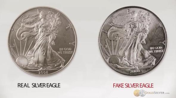 Torrent Of Fake U S Silver Eagle Coins Floods Canadian
