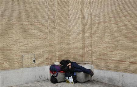 Millions falling into poverty in recession racked Italy