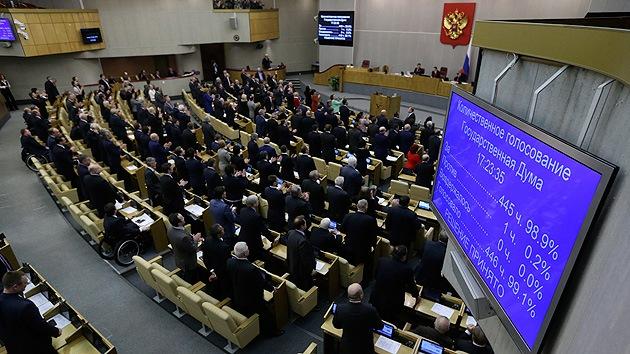Rusia puede dejar de invertir en los pa�ses que le sancionan