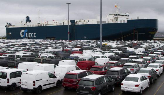 El frenazo de la econom�a europea lastra las exportaciones espa�olas