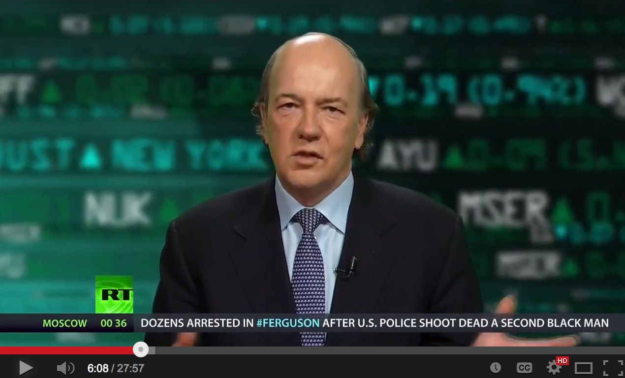 Jim Rickards on the European economy and Dennis Gartman on sanctions