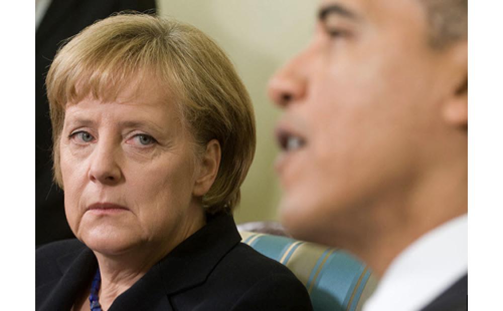 Merkel Slams US Hegemony?