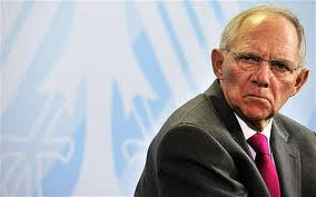 BREAKING - SCHAEUBLE SAYS ECB HAS REACHED LIMIT IN HELPING EURO
