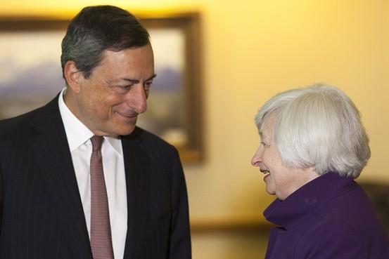 Draghi tiene ante s� una �ra de turbulencias