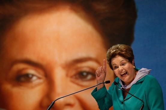 Con Brasil en recesi�n t�cnica, la reelecci�n de Rousseff se aleja