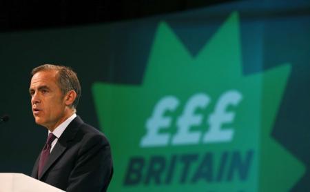 Se acerca primera alza de tasas en Gran Breta�a: Carney, del Banco de Inglaterra