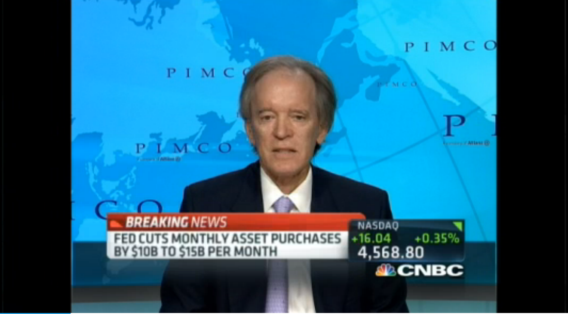 Bill Gross - Fed needs 'Considerable Time'
