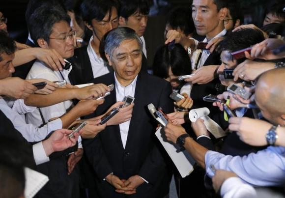 BOJ will act 'without hesitation' if price goal threatened - Kuroda