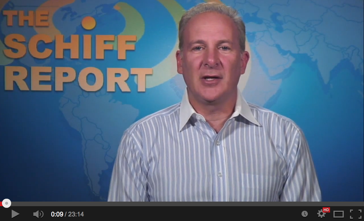 Peter Schiff Blasting Apart The Fed Lies
