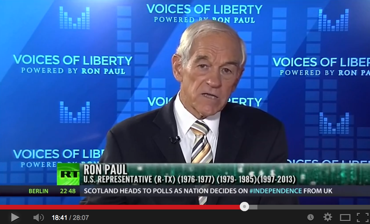 Ron Paul on Fed hikes