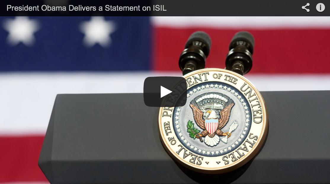 President Obama Explains Why He