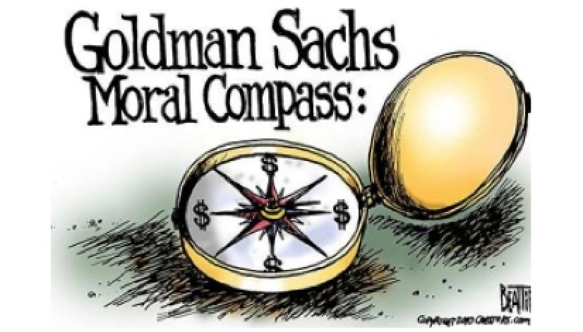 Goldman Sachs Moral Compass?