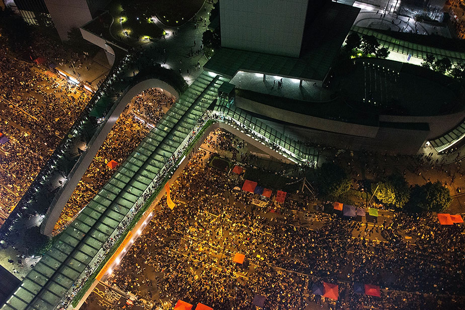Hong Kong protests - In the thick of it