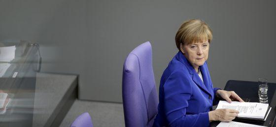 Merkel, inflexible: �Todos, e insisto en todos, los pa�ses deben cumplir�