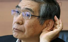 Hyperinflation Doesn't Scare Kuroda But Ex-BoJ Chief Says