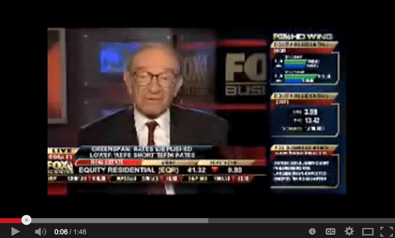 Alan Greenspan on Gold Standard