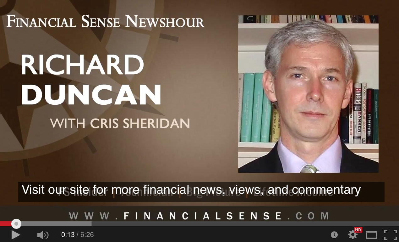 Richard Duncan - Why QE 4 Is Inevitable