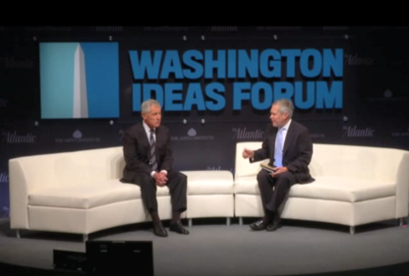 HAGEL - 'I THINK WE ARE SEEING A NEW WORLD ORDER'