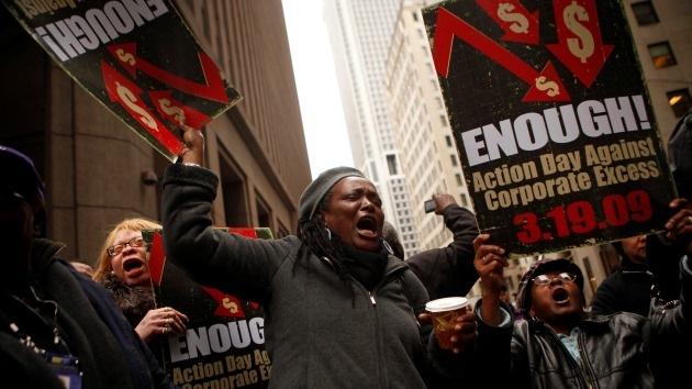 Un colapso econ�mico dar� lugar a una revoluci�n en EE.UU.