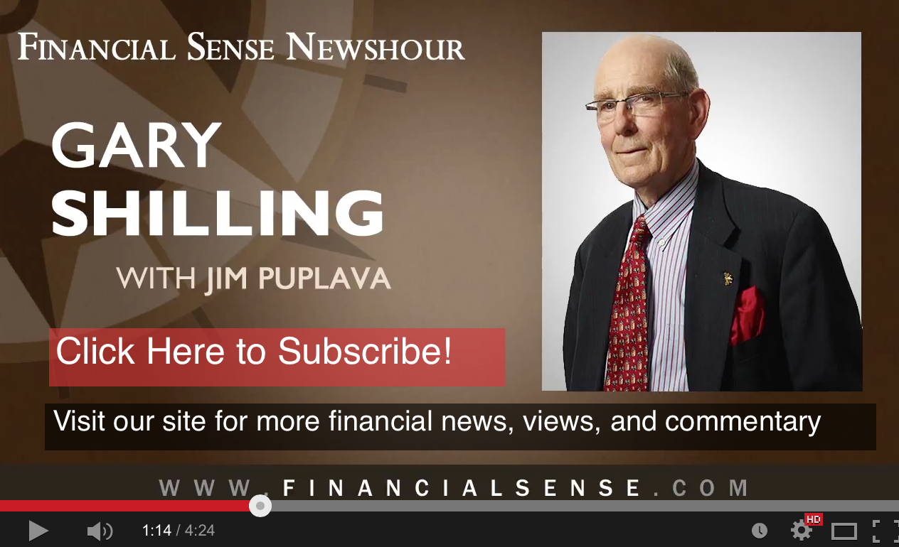 Dr. Gary Shilling on the Overpowering Reality of Deleveraging