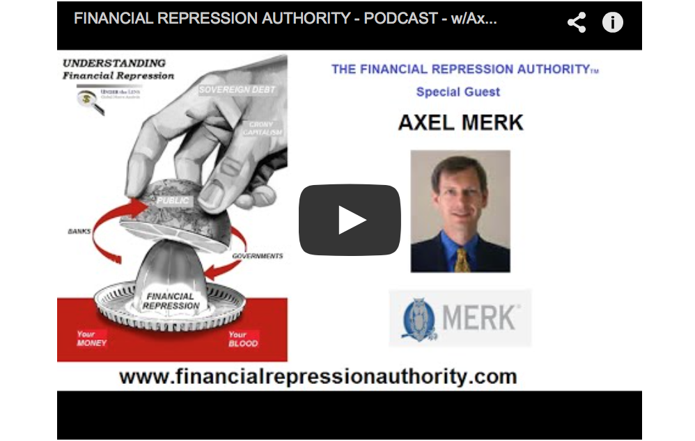 Gold - Central Banks and Financial Repression Authority - Axel Merk