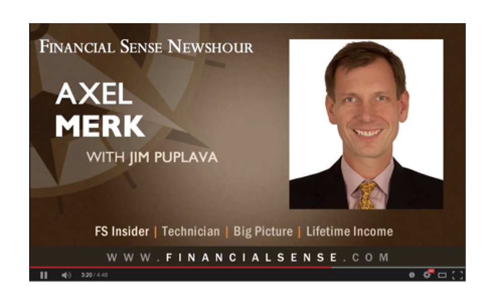 Axel Merk - Volatility the Big Issue in 2015 � Markets and the Dollar Could Weaken