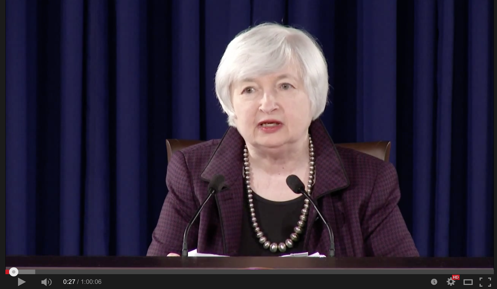 Replay of the Press Conference with Chair of the FOMC, Janet L. Yellen