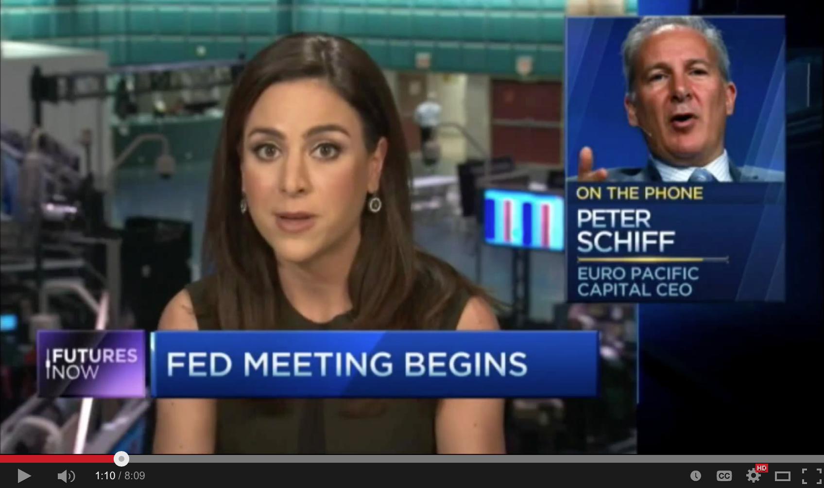 Fed Caused Oil Crash, Stocks Next - Peter Schiff