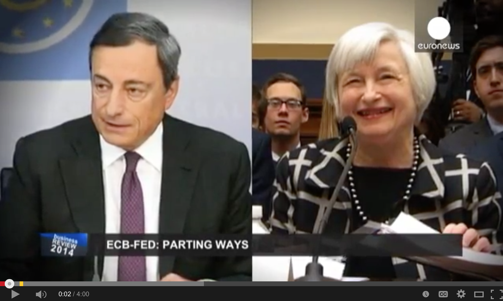 Central banks chose different paths