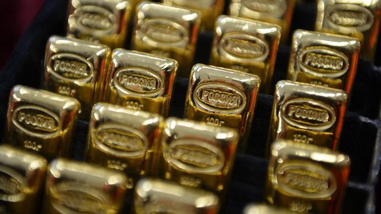 Las reservas de oro de Rusia llegan a su m�ximo en 20 a�os