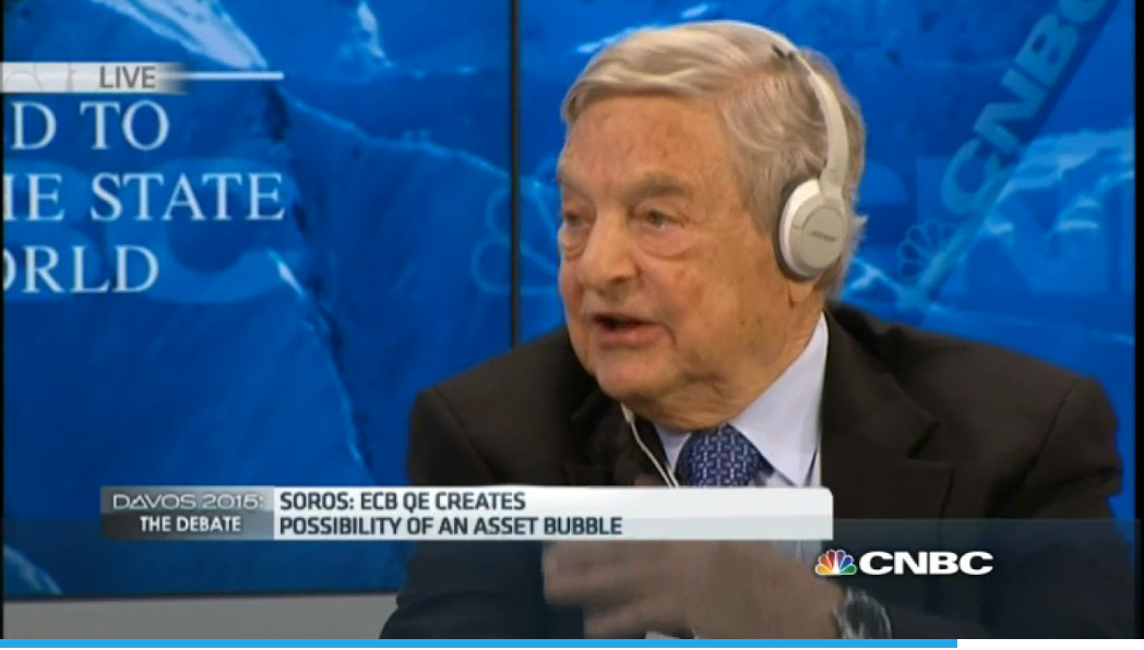 Soros - ECB QE equals asset bubbles and inequality
