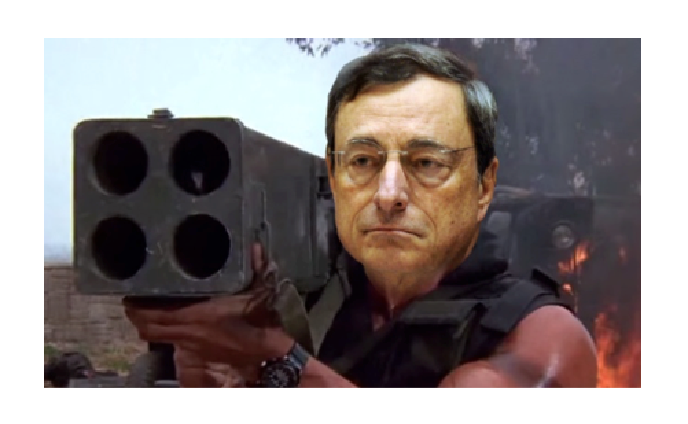 The Lunatics Are Running the Asylum - Draghi�s Money Printing Bazooka
