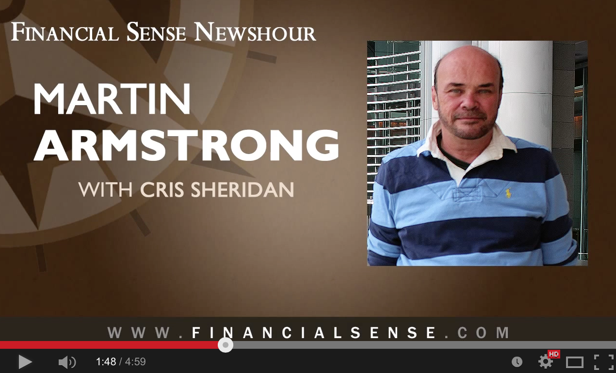 Martin Armstrong: Major Turning Point Coming in October � Peak in the Economic Confidence Model