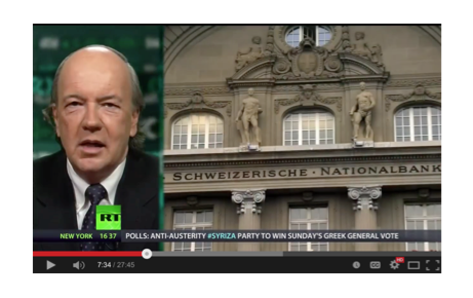 Jim Rickards - Currency wars and Gold in the EU (pt 2/2)
