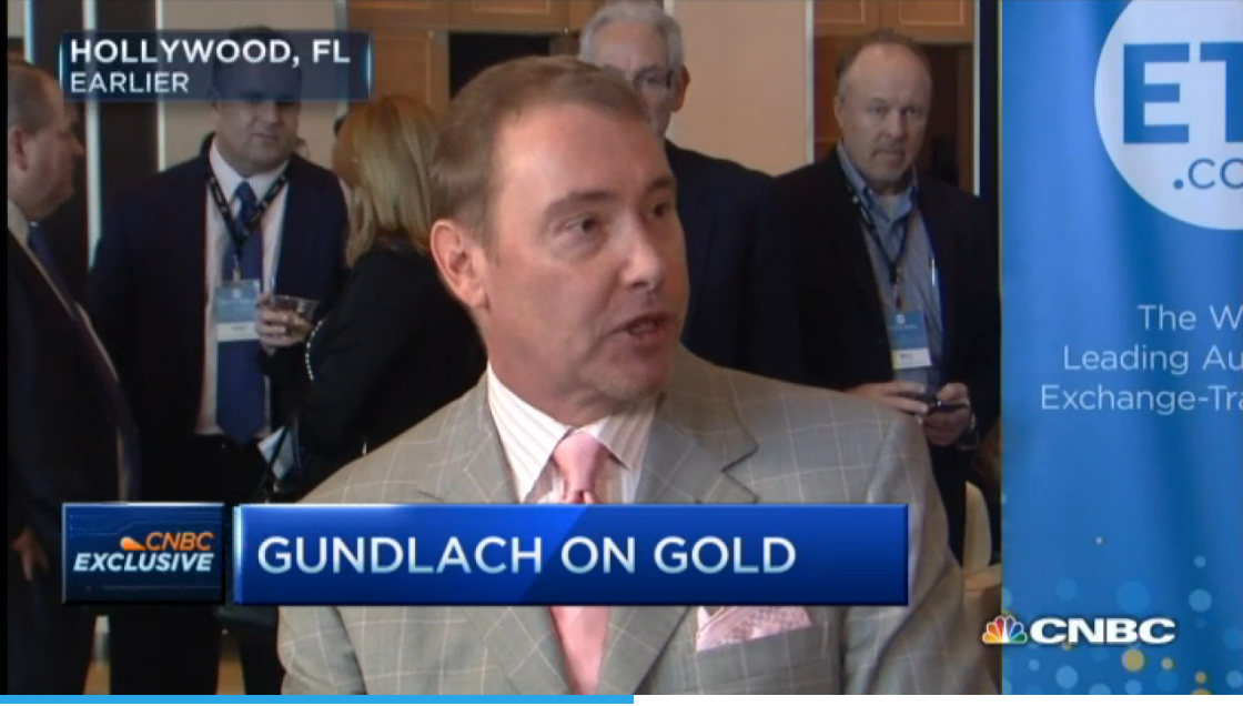 Jeffrey Gundlach - A World incrementally Favorable for Gold