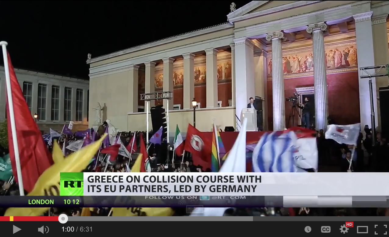 Greece on collision course with its EU partners