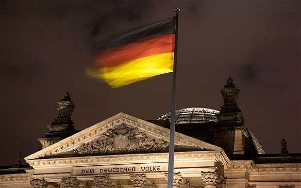 Germany succumbs to Europe�s deflationary crisis