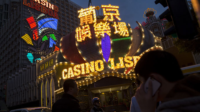 World�s biggest gambling hub in China sees revenues down record 49% in February
