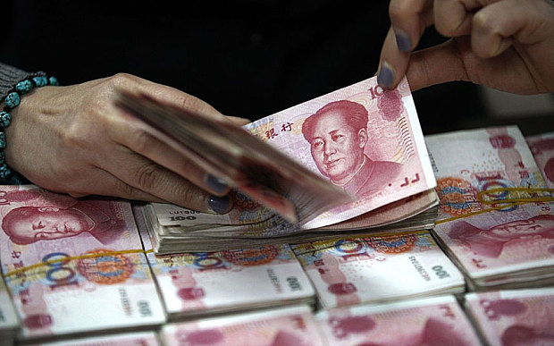 Liquidity evaporates in China as 'fiscal cliff' nears