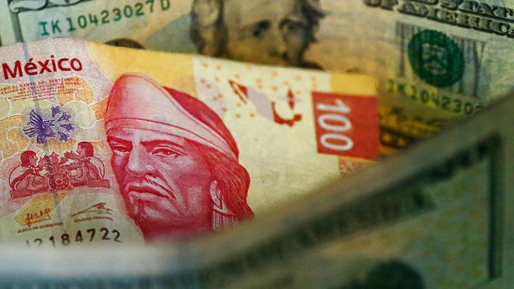 El Banco de M�xico subasta sus reservas internacionales para 'salvar' al peso