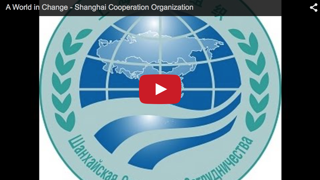 A World in Change - Shanghai Cooperation Organization