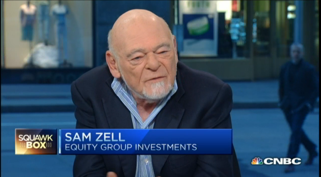 Sam Zell - Why a stock correction could be coming
