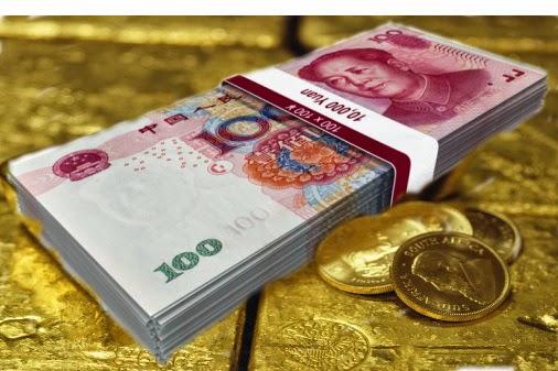 Oro, el yuan y el sistema de reserva multidivisas