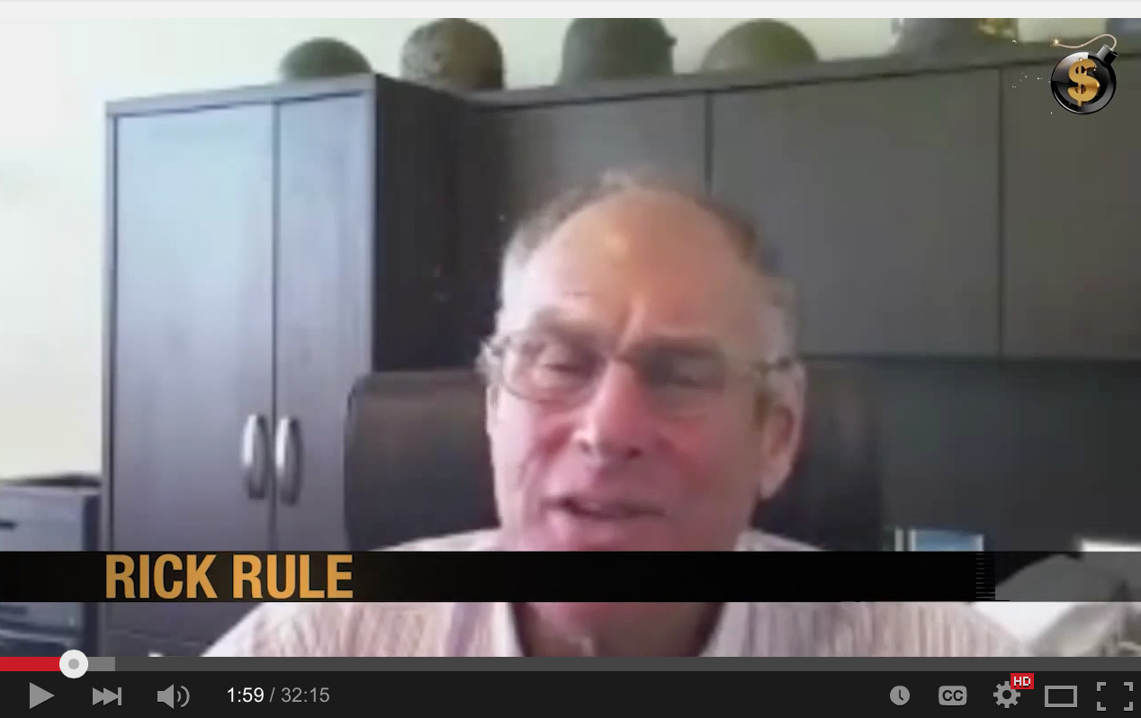 Rick Rule - The Global Financial System Is Now A Confidence Game