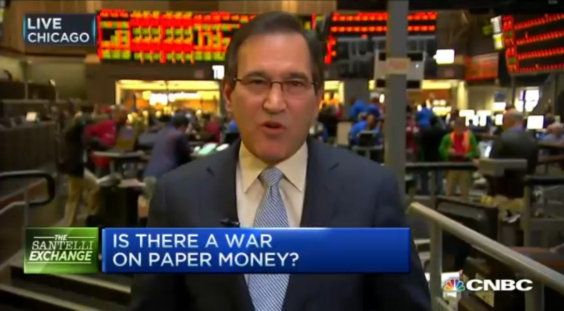 Santelli: Paper Money-Legal Tender is Highly Questionable