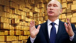 Russia Loads Up on More Gold, Dumps US Treasuries