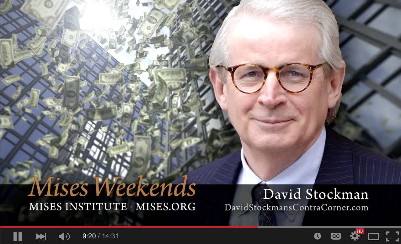David Stockman - Against Crony Capitalism