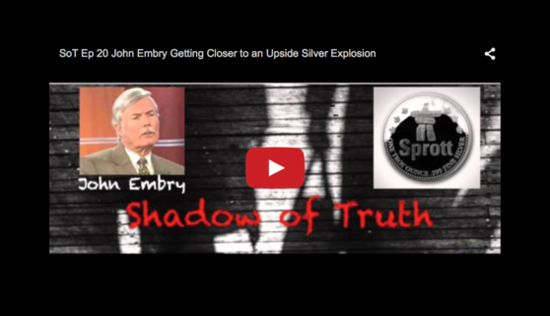 John Embry: Silver - Getting Closer to an Upside Explosion
