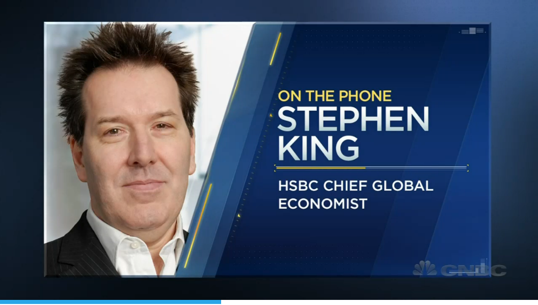 HSBC's Chief Economist  Stephen King, - Fed policies could lead to disaster